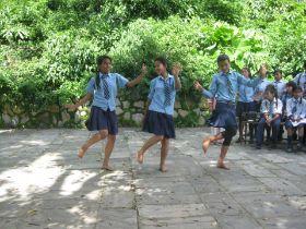 Tanzaufführung August 2012